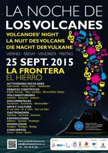 Cartel La Noche de los Volcanes 2013